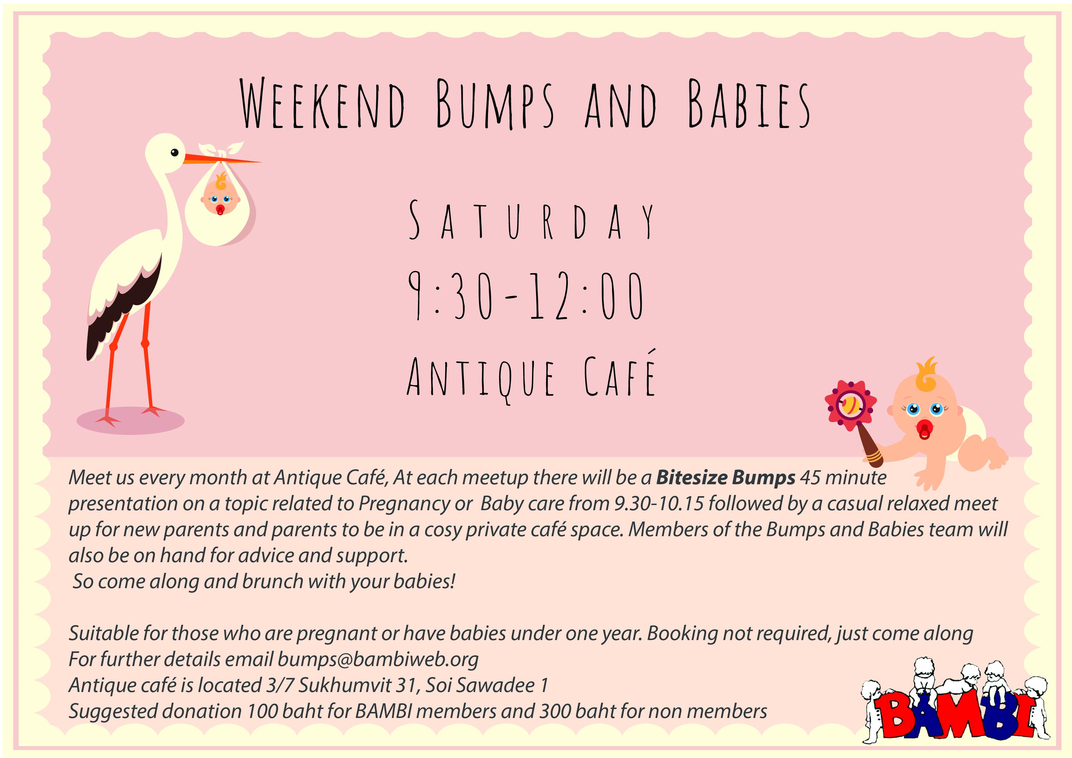 Weekend Bumps & Babies