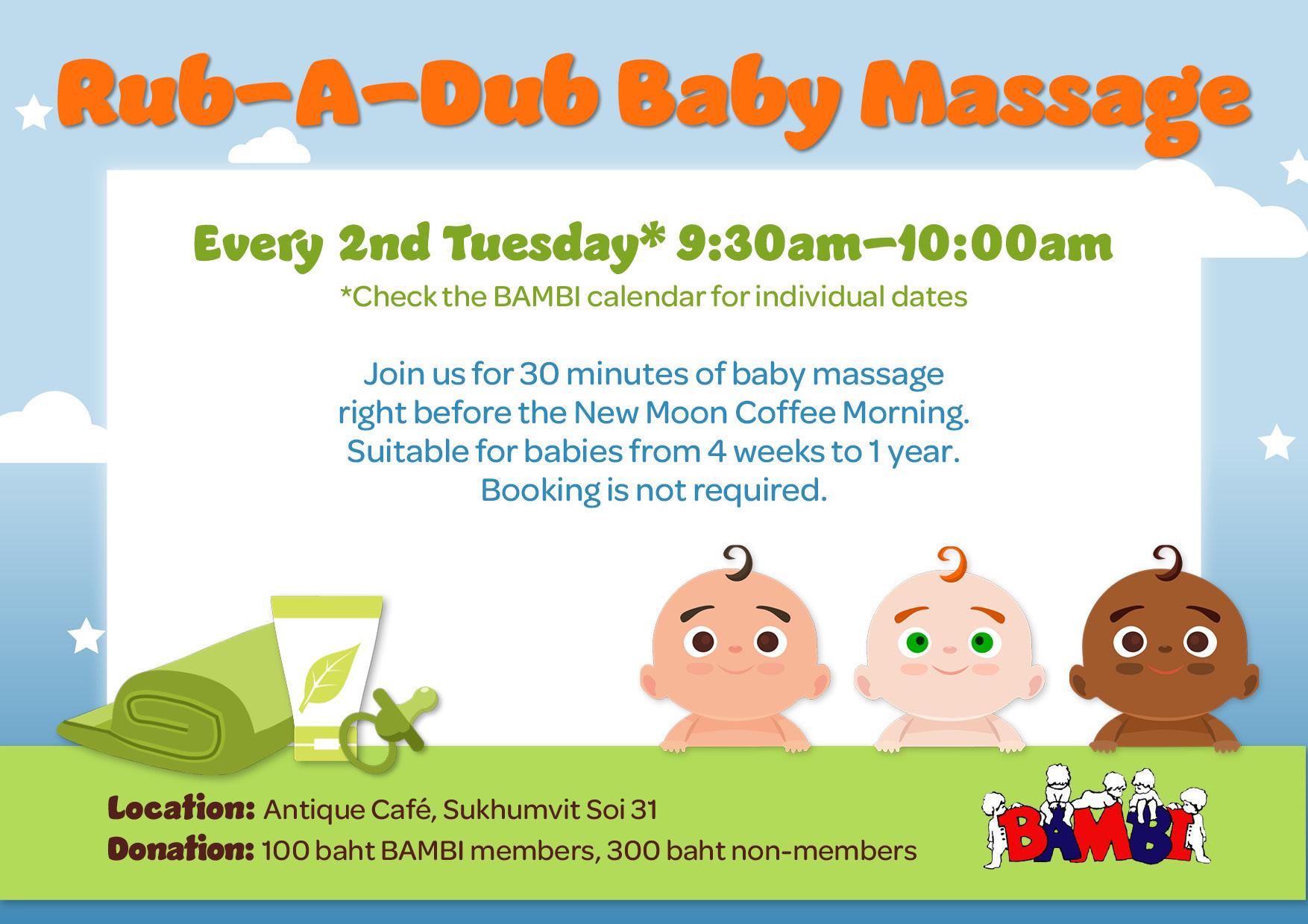 Rub-a-Dub Baby Massage