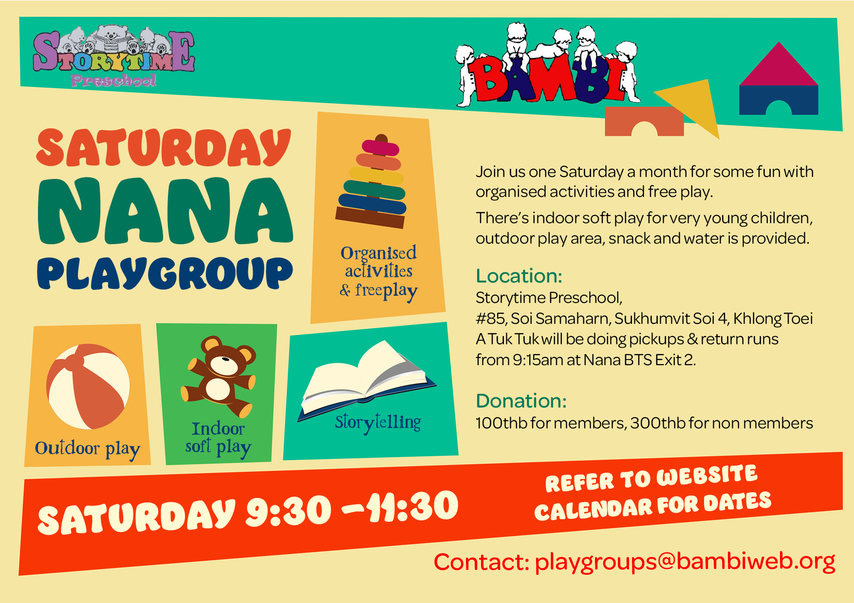 Saturday Nana Playgroup