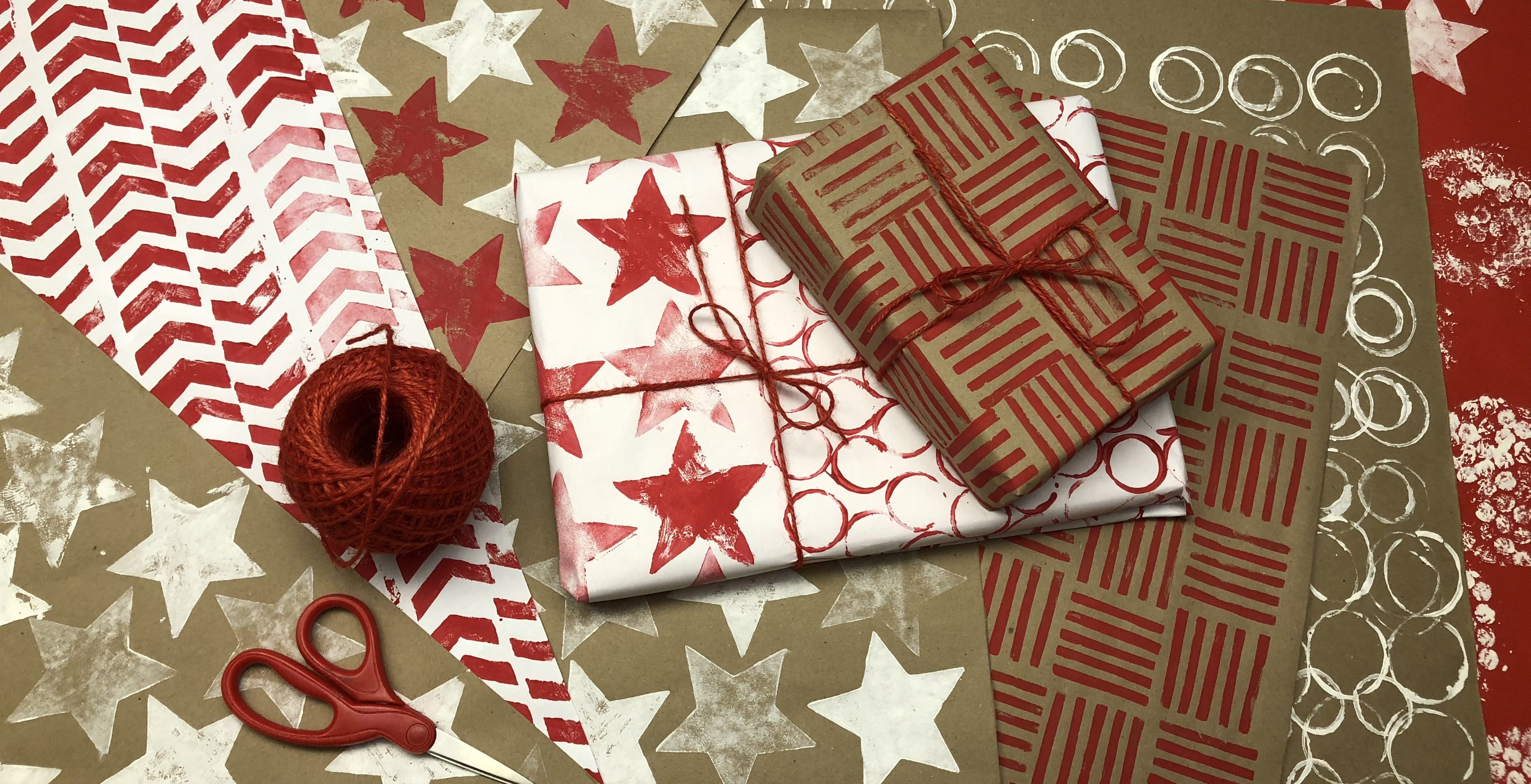 DIY Holiday Season Gift Wrap