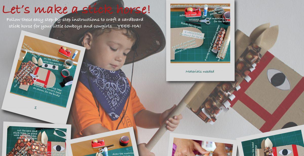 Creative Kids: Cardboard Stick Horse