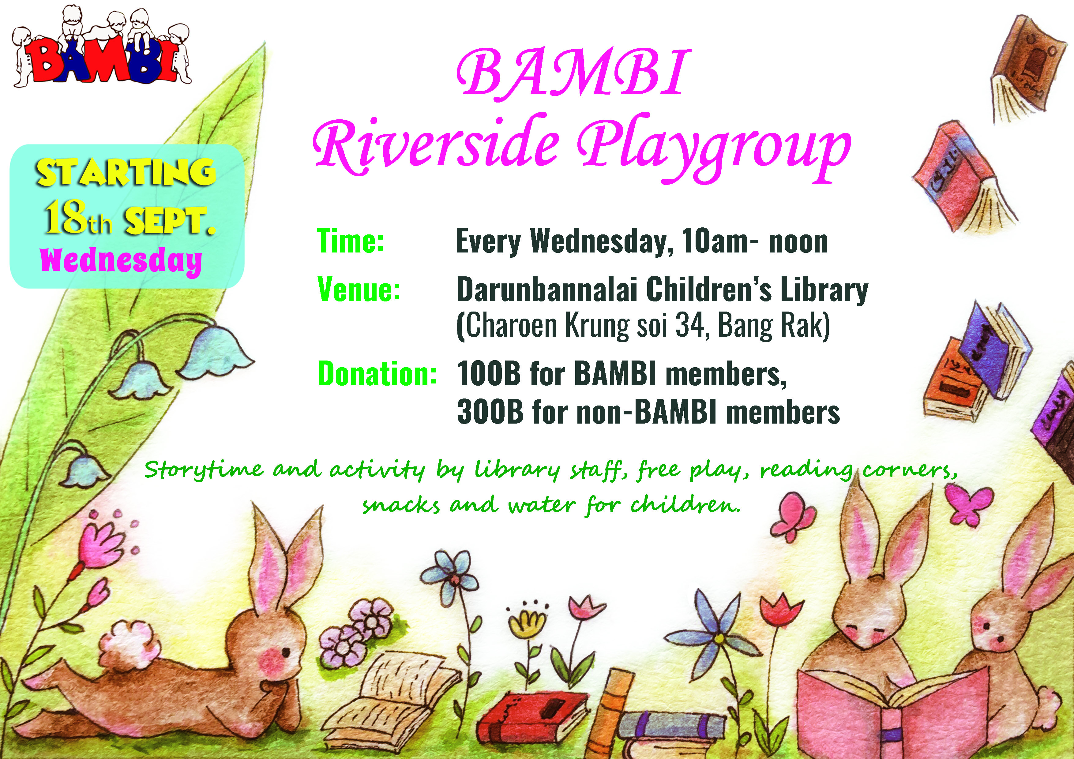 Bambi Riverside Playgroup