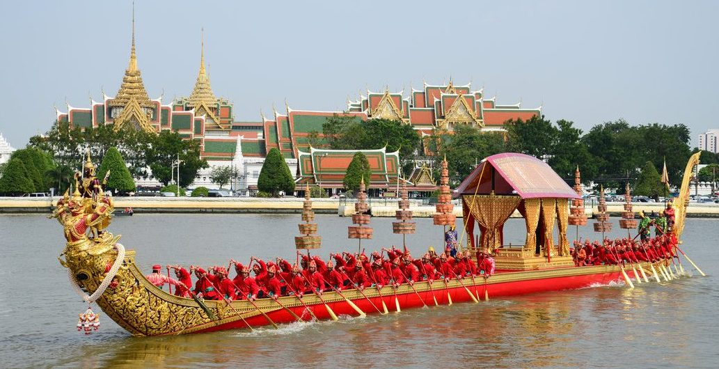 The Momentous Royal Barge Procession