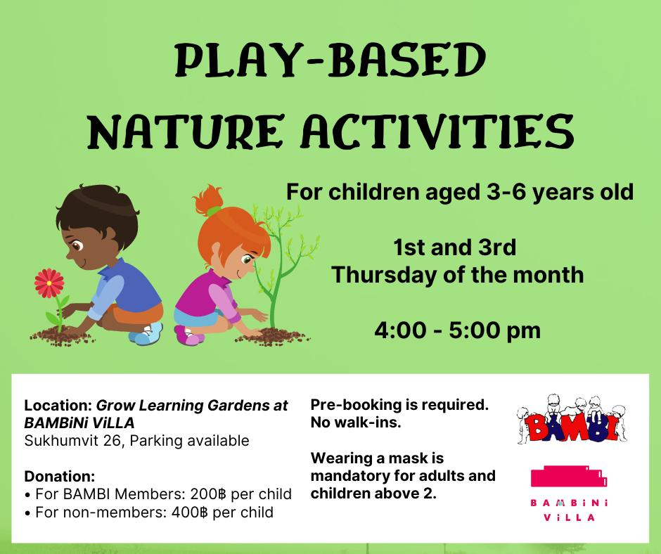 Play-Based Nature Activities