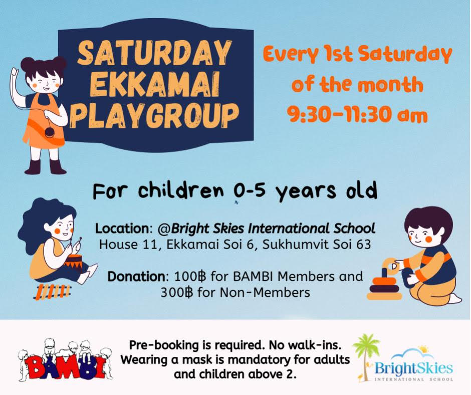 Saturday Ekkamai Playgroup