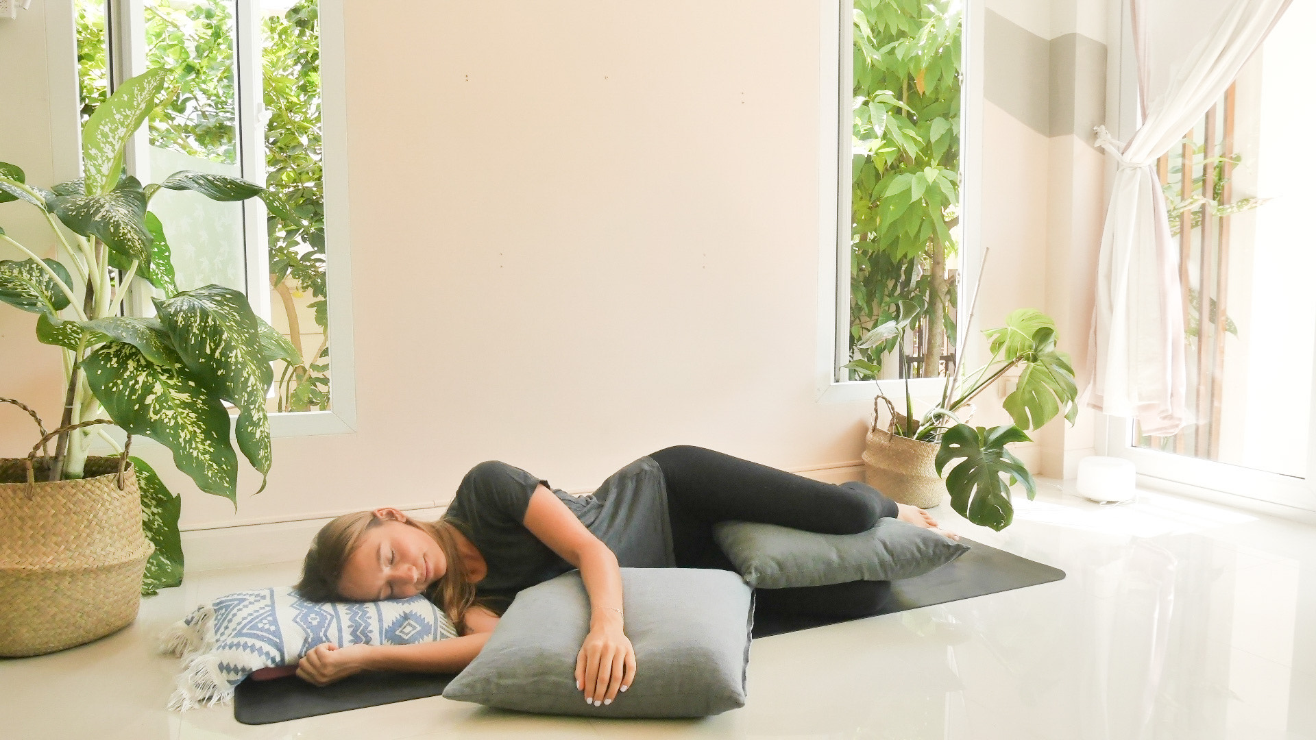 The Benefits of Restorative Yoga for New Parents