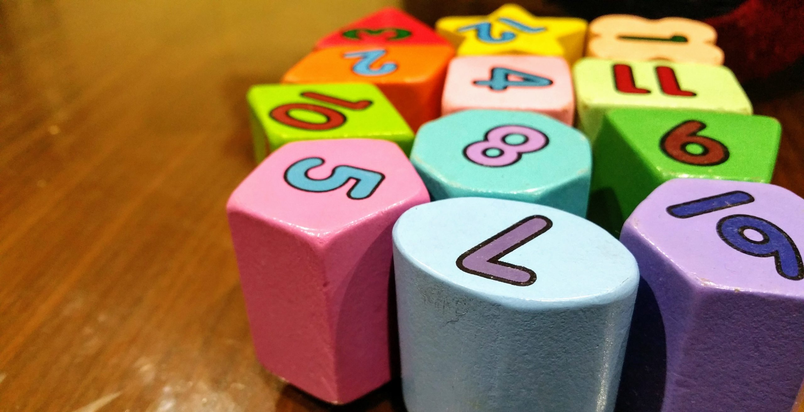 Seven Ways to Mix Maths into Your Child's Day