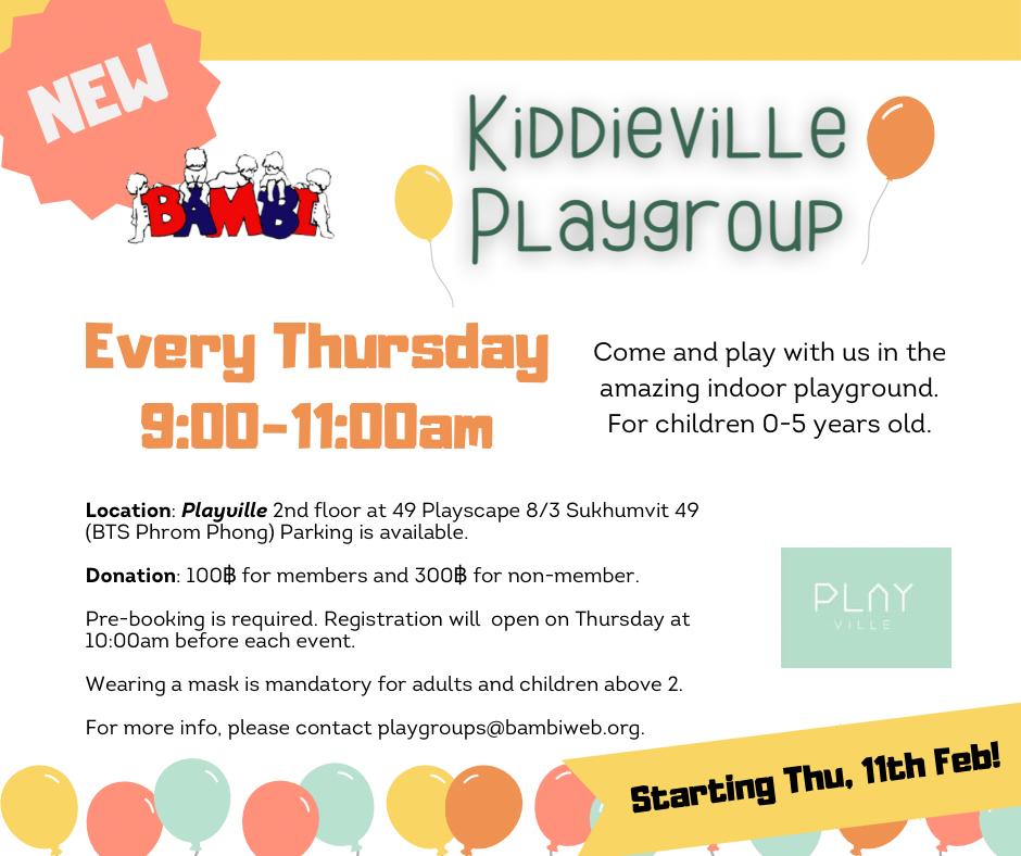 Kiddieville Playgroup